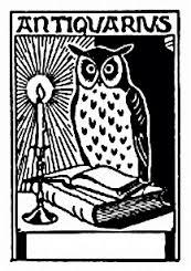 owl bookplate