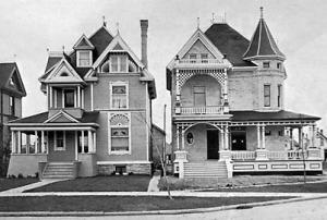 residences A D Irish & H. Benard 1903