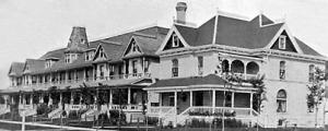 Sanderson Terrace Carlton St 1903